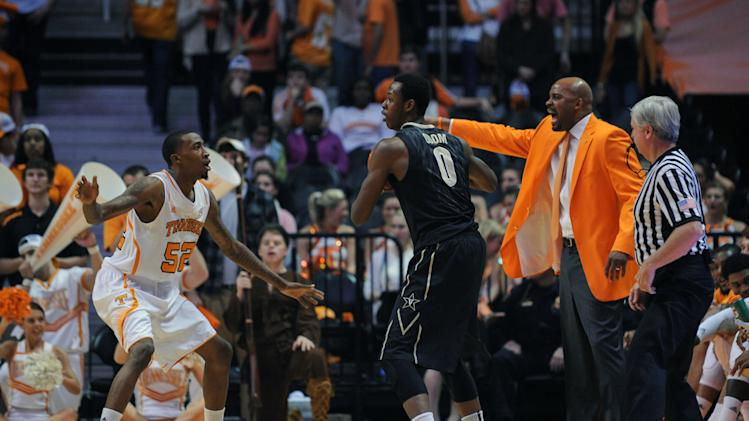 NCAA Basketball: Vanderbilt at Tennessee