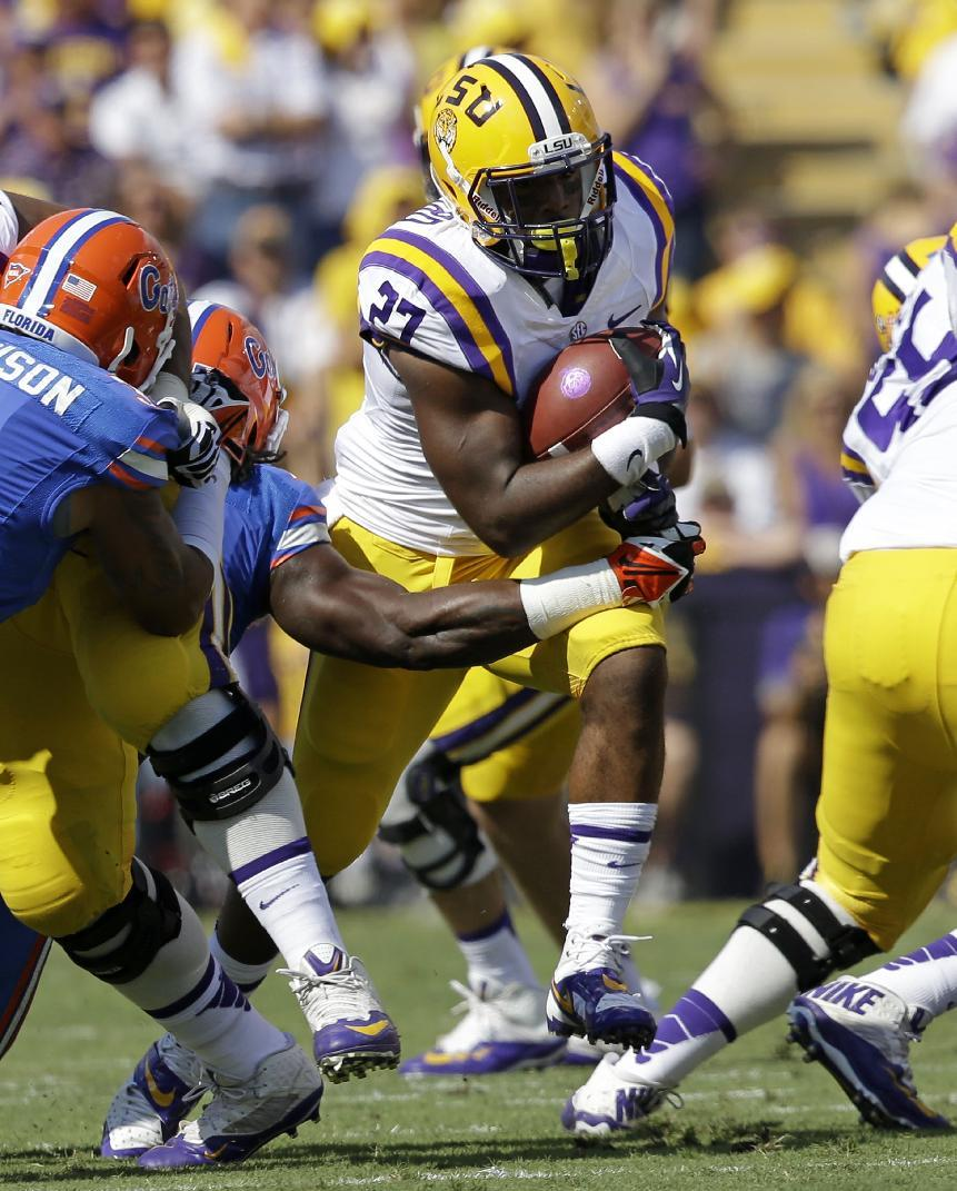No. 10 LSU grinds out 17-6 win over No. 17 Florida