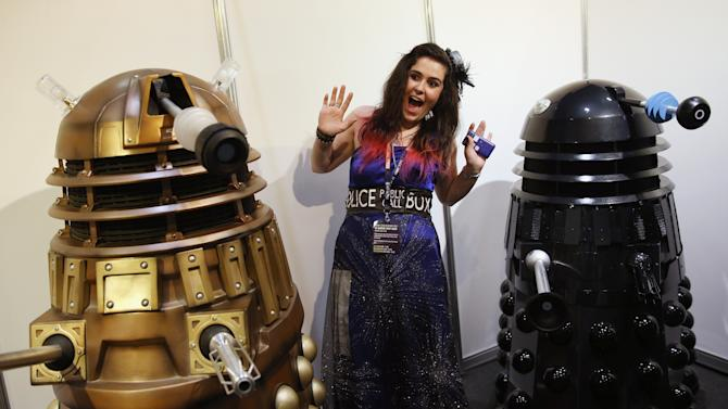 Fans Gather To Celebrate 50th Anniversary Of Doctor Who