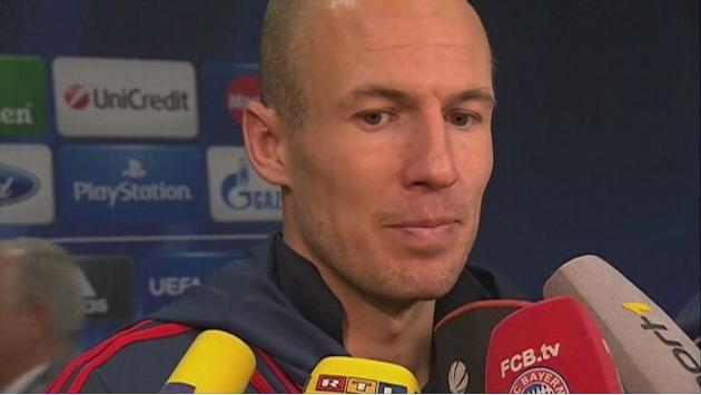 Robben: Bayern controlled the game