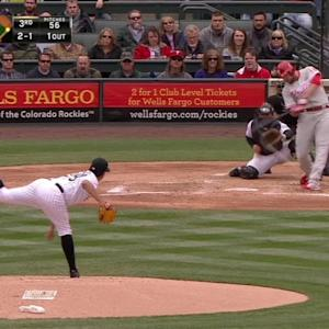 Ruf's RBI single