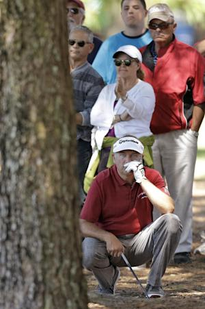3-way tie for lead on tough Copperhead course