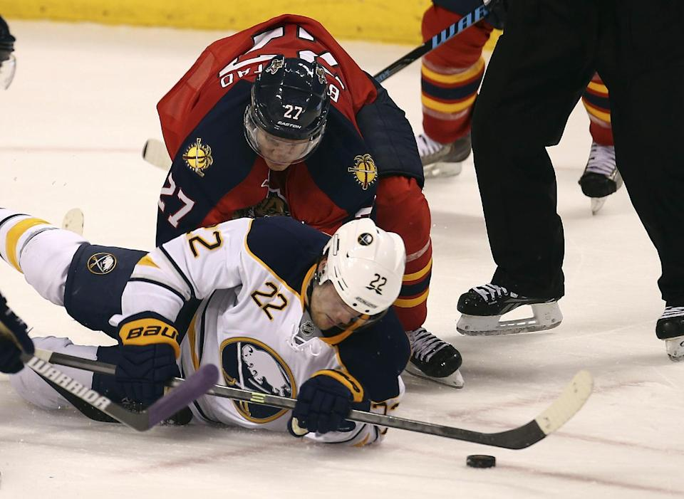 Ott, Enroth lead Sabres over Panthers, 3-1