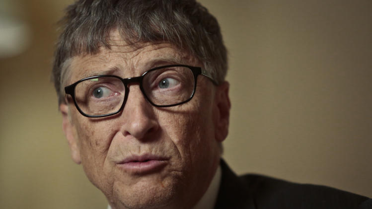 Gates says poor countries not doomed to stay poor