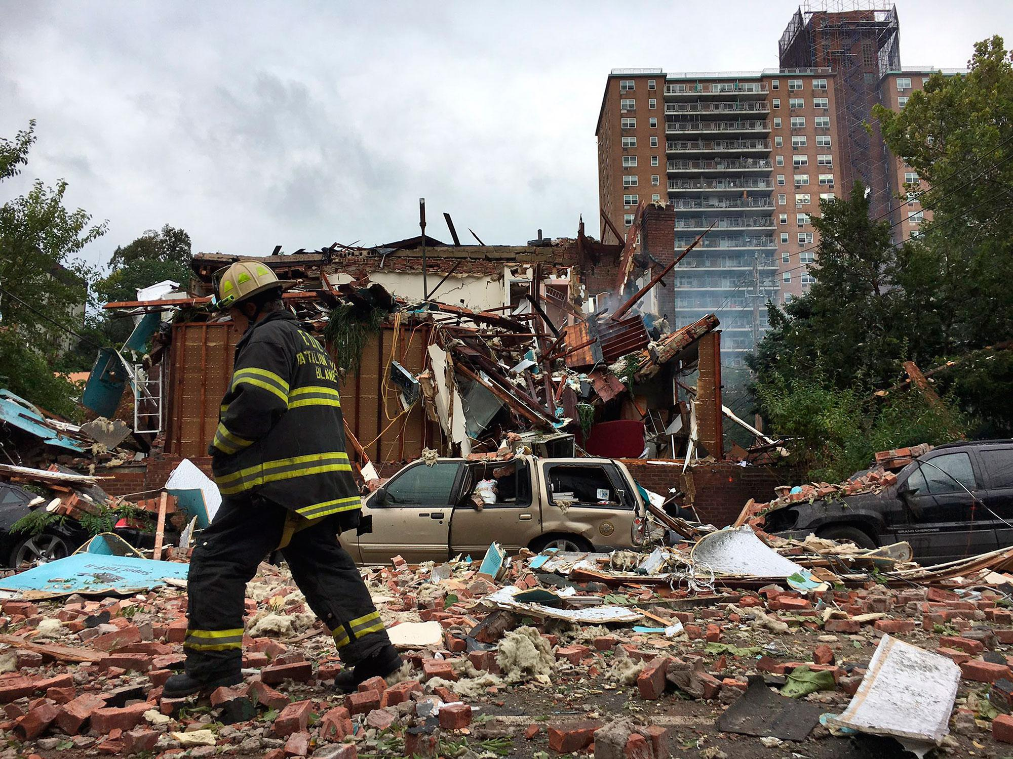 Deadly house explosion in the Bronx