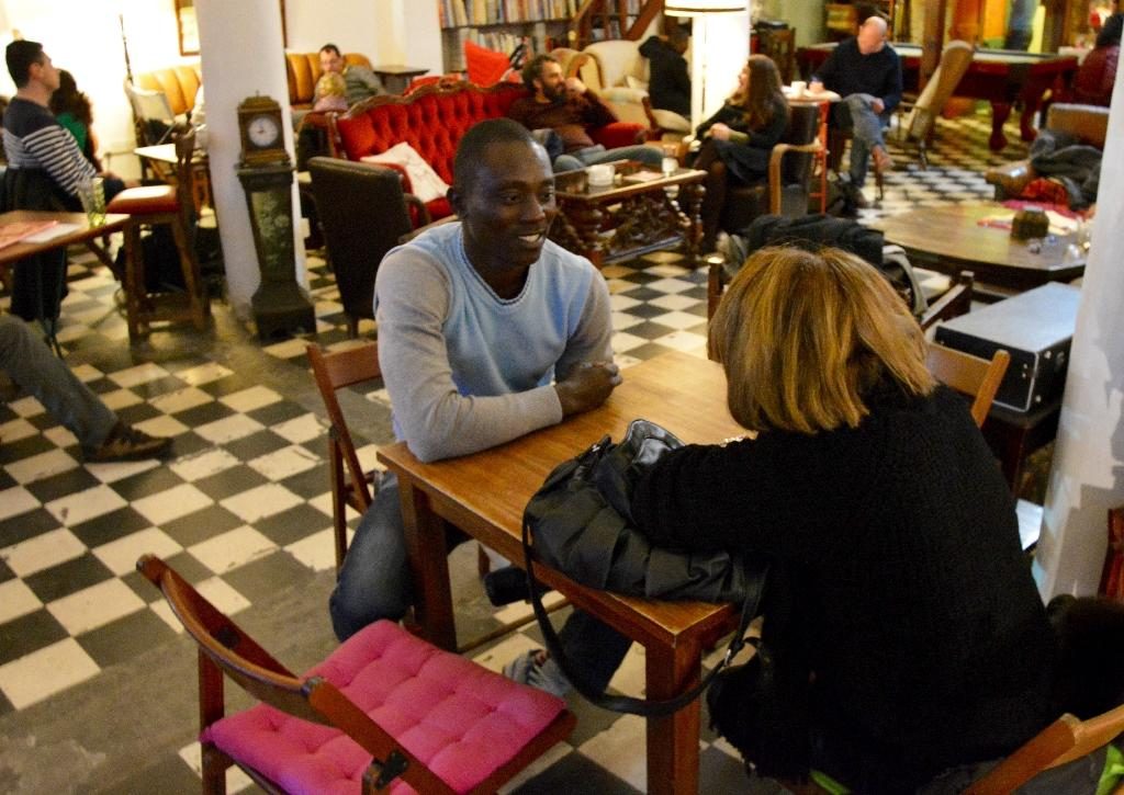 Migrants share their tales at Cyprus 'human library'