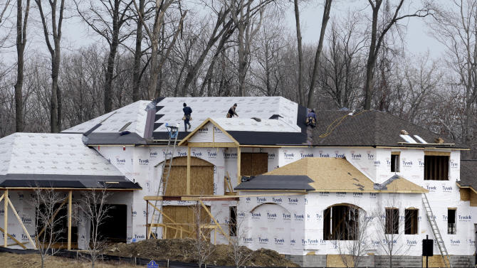 US home building up in March after frigid winter