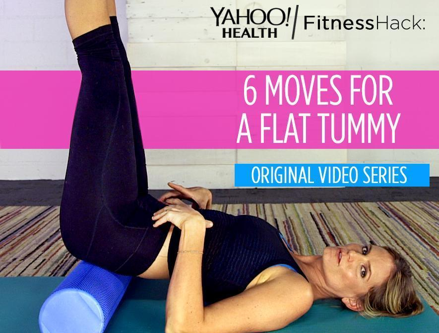 Fitness Hack: 6 Moves For A Flat Stomach