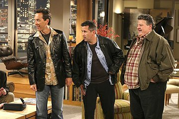 "Richard E. Grant, Anthony LaPaglia and Robbie Coltrane NBC's ""Frasier"" Frasier"