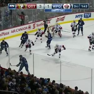 Andrew Hammond Save on Blake Wheeler (18:18/3rd)