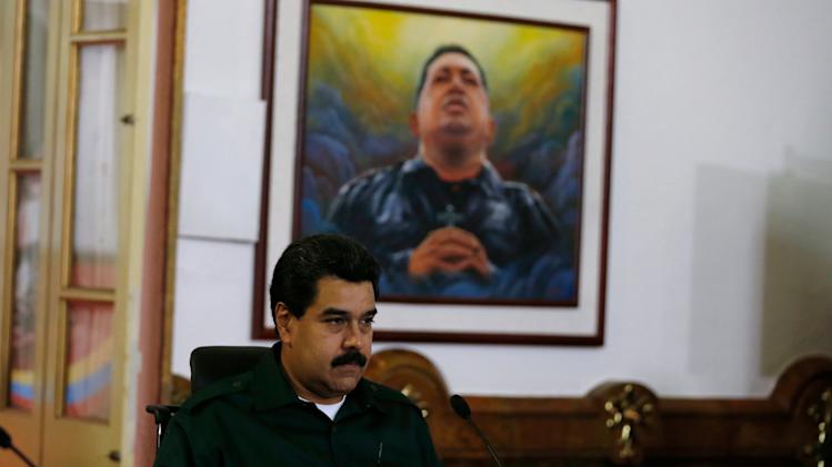 Venezuela's president calls for higher gas prices