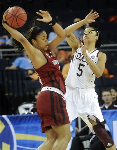 No. 19 Texas A&M women top No. 17 S Carolina 61-52