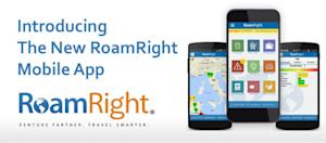 RoamRight's New Mobile App For Travelers Now Available