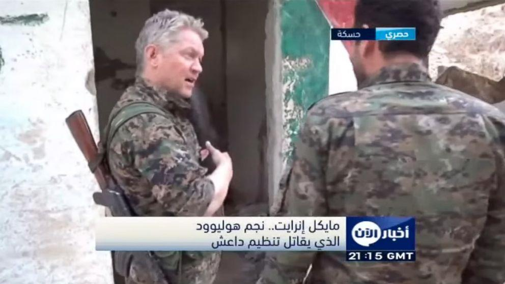 Actor Michael Enright Joins Kurds in Fight Against ISIS in Syria