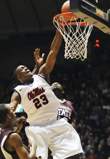Mississippi beats No. 18 Mississippi State, 75-68