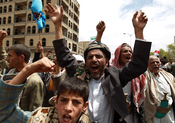 Huge rival protests in Yemen capital amid UN warning