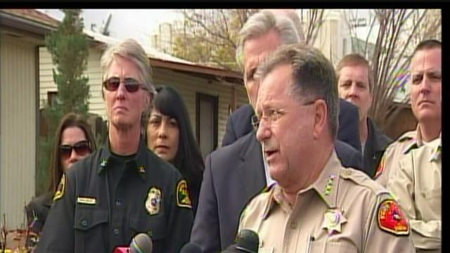 Kern County Sheriff's Department's Donny Youngblood, GOP Whip Kevin McCarthy press conference Taft High School Shooting