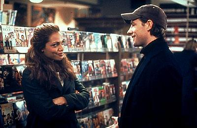 Rosario Dawson and Edward Burns in Paramount Classics' Sidewalks of New York