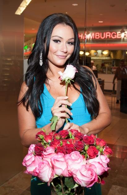 Jenni 'JWOWW' Farley visits GNC Store, Westfield Garden State Plaza in Paramus, New Jersey on October 22, 2012 -- Getty Images