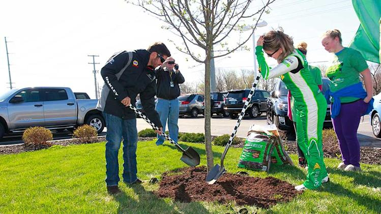 NASCAR tree planting initiative hits six figures