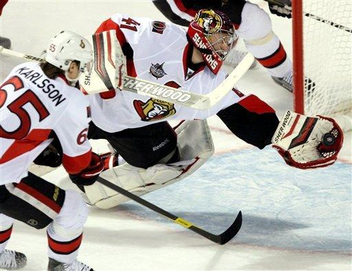Alfredsson gives Senators shootout win