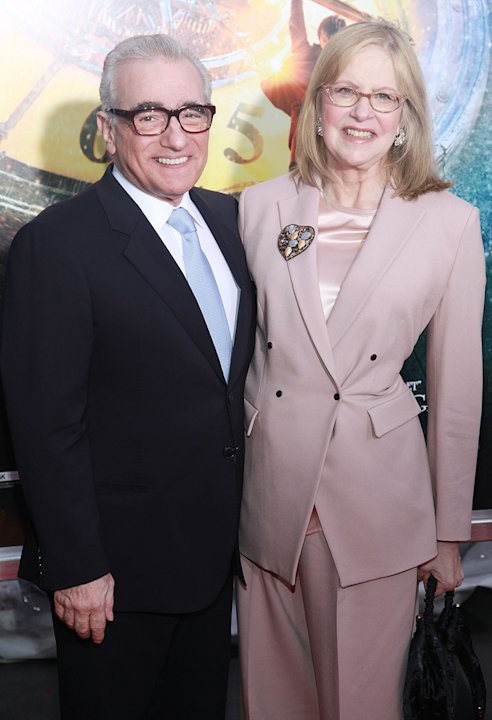 Hugo NY Premiere 2011 Martin Scorsese Helen Scorsese