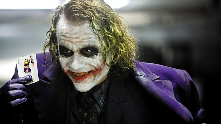 The Dark Knight Production Stills 2008 Heath Ledger