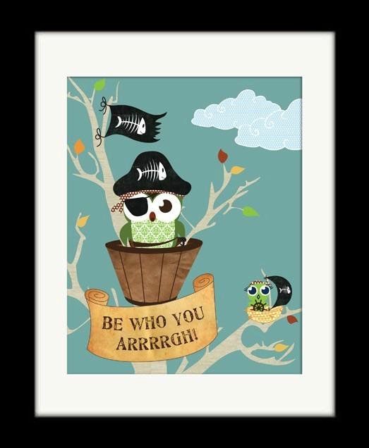 Pirates and owls, oh my!