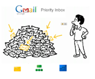 Don't Let the New Gmail Push Your Content to the Back image Gmail Priority Inbox 300x249
