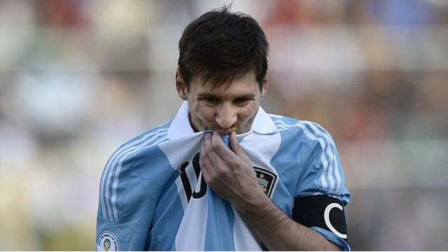 World Cup - Messi in Argentina squad, four others suspended