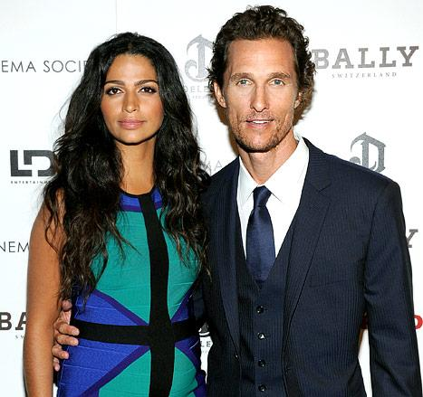 Matthew McConaughey, Camila Alves Welcome Baby Girl!