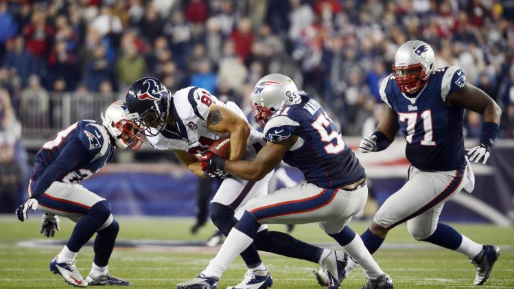 NFL: AFC Divisional Round-Houston Texans at New England Patriots