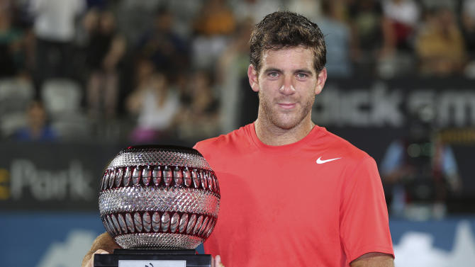 Del Potro wins Sydney International