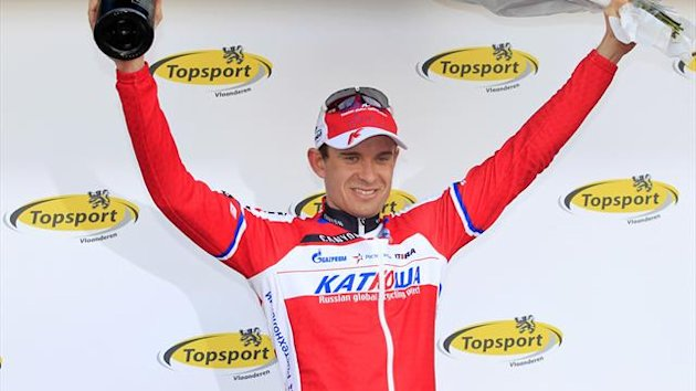 Norwegian Alexander Kristoff of Team Katusha (AFP)