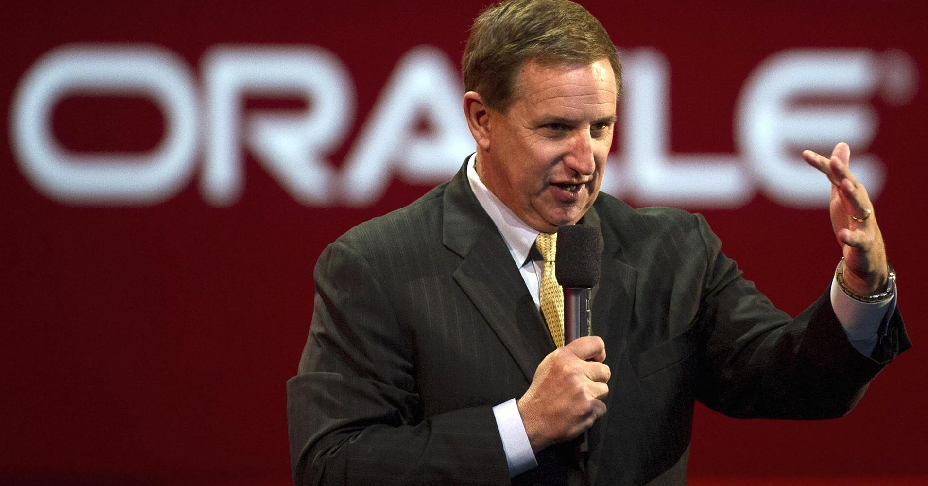Oracle pops after beating forecasts