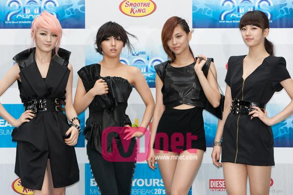 2010 20's Choice_miss A