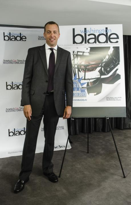 NFL And The Washington Blade Partnership Announcement