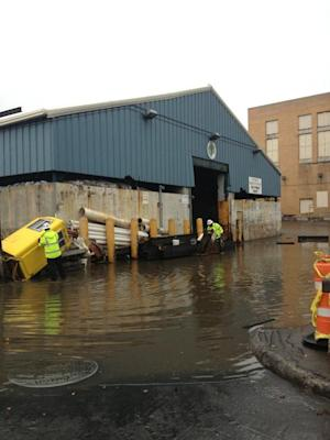 Superstorm Sandy Flooding New York Streets [PICS]