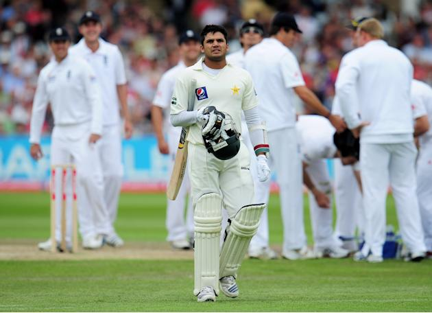 England v Pakistan: 1st Test - Day Two