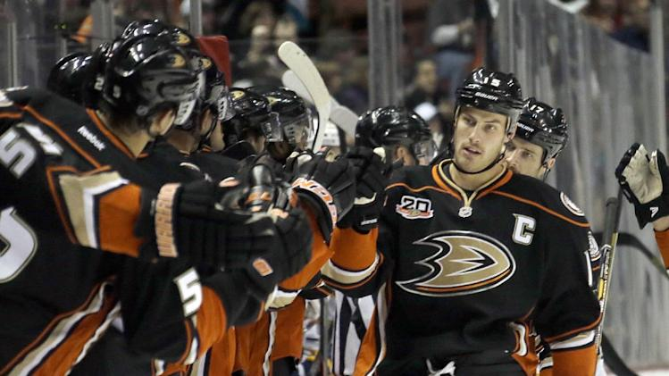 Ducks captain Getzlaf nearing return