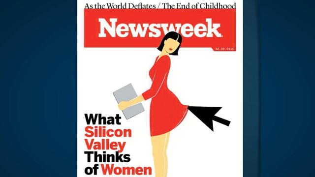 Newsweek criticized over cover on Silicon Valley, women