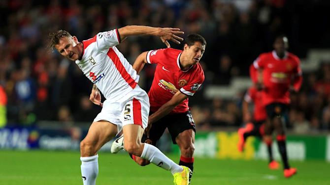 Man United humbled in League Cup by 3rd tier Dons