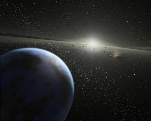Giant comets may threaten Earth: astronomers - Yahoo News