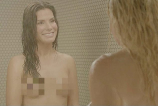 Sandra Bullock desnuda