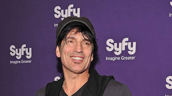 Tommy Lee Syfy Upfronts