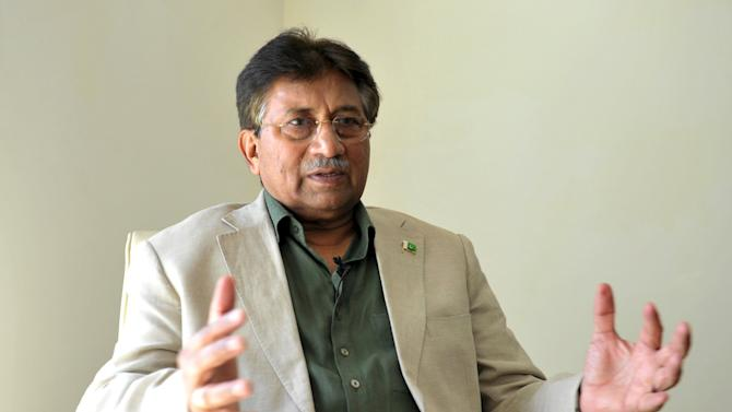 File picture of Musharraf