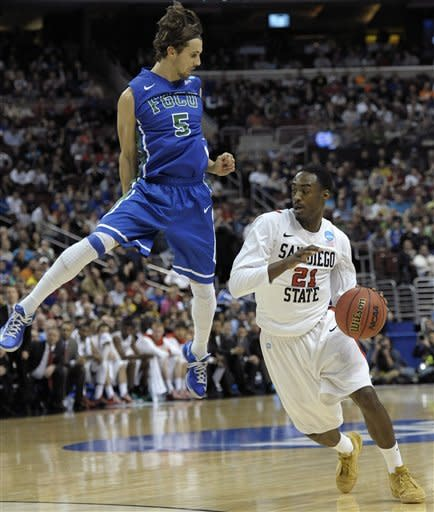 No. 15 seed Florida Gulf Coast beats SDSU 81-71