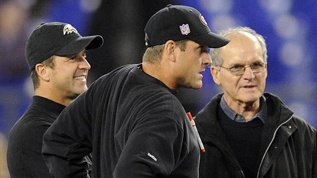 John Harbaugh, Jim Harbaugh and Jack Harbaugh, NFL, Ap/LaPresse