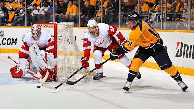 Detroit Red Wings v Nashville Predators - Game Two