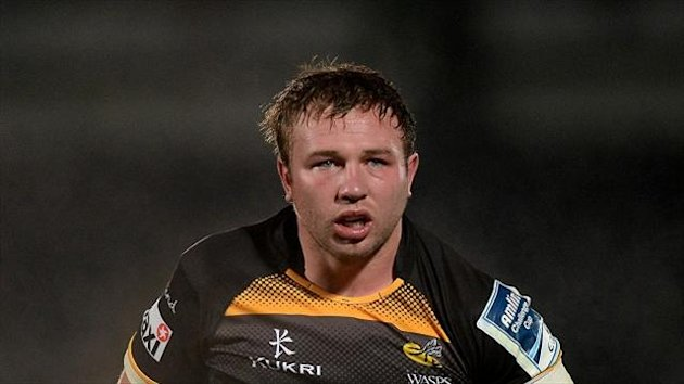 England call for Wasps' Matt Mullan.